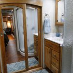 Bathroom - Fifth Wheel Show Trailer