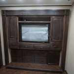 Solid Maple Wardrobe w/Lift up TV