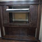 Solid Maple Wardrobe w/Lift up TV