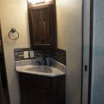 Walk-through Bathroom Vanity & Medicine Cabinet