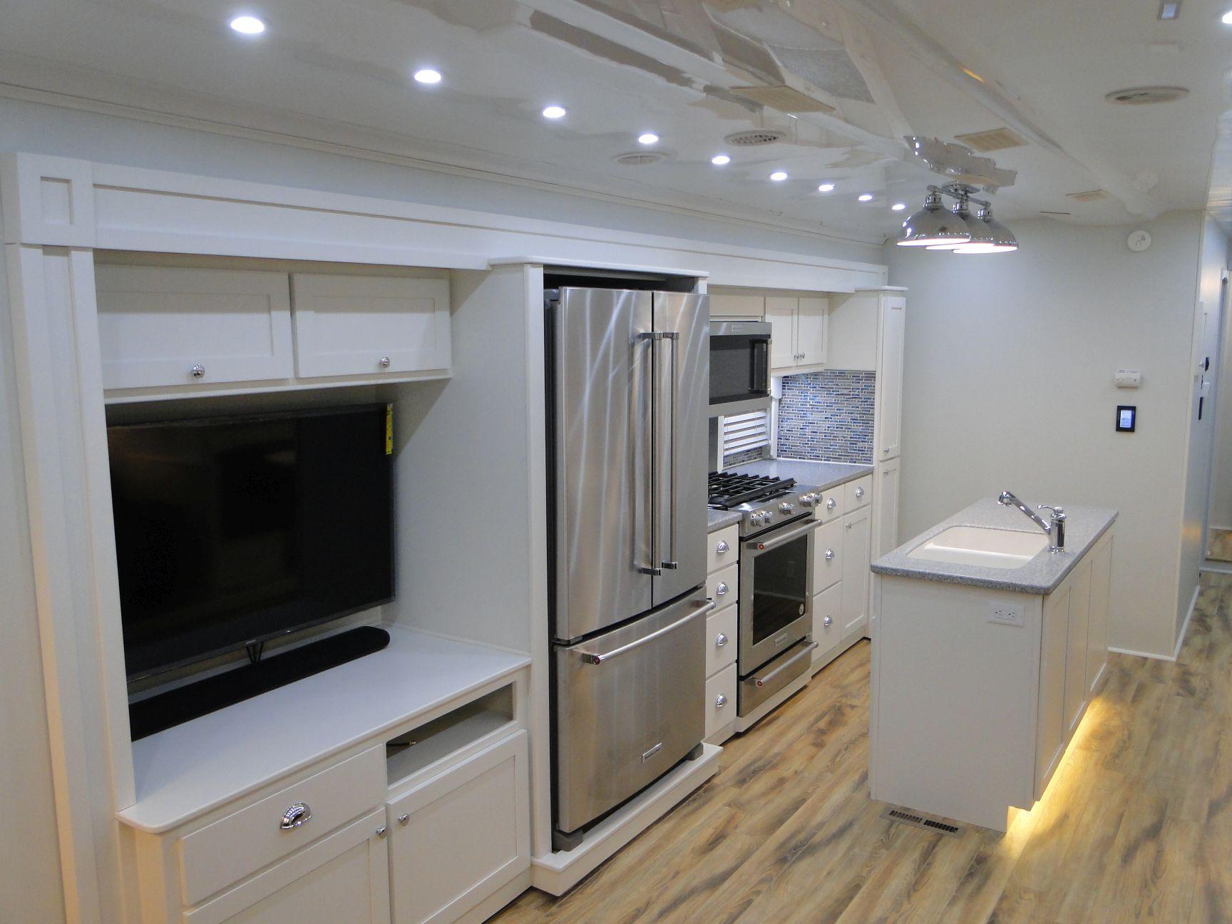 Entertainment Center/Residential Kitchen