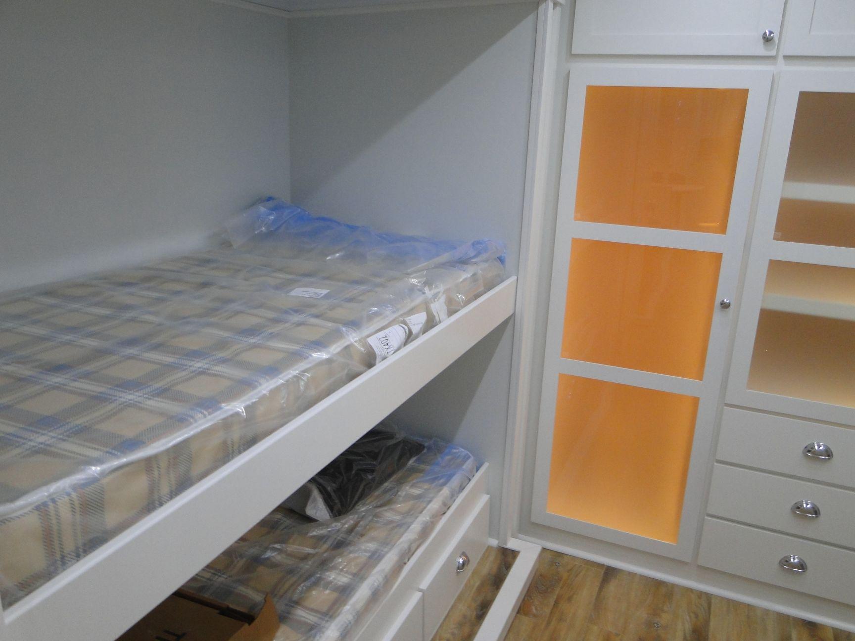 Bunk Bed w/Storage Below